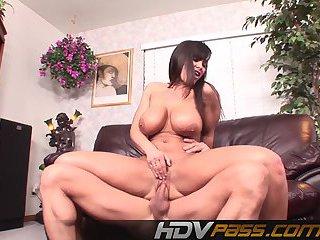 lisa ann rides big dick