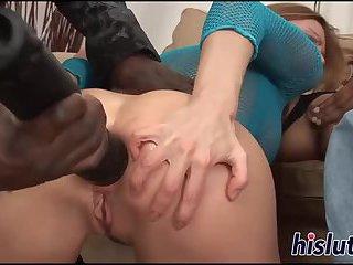 Nasty sluts analed by black boys