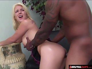 Blondie Gets an Anal Punishment