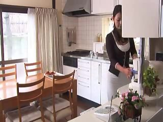 Japanese Anal mom and boy with Private teacher