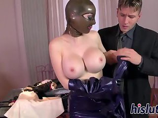 Kinky trainer bangs a fat slut
