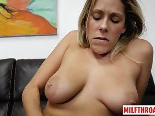 Thumb Natural tits mom fetish with cumshot
