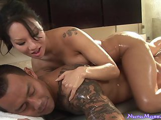 Asa Akira always delivers with her massages
