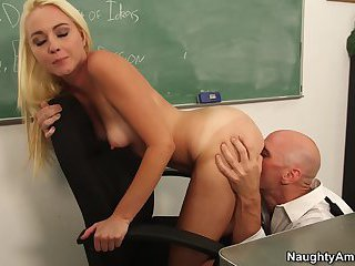 Ashley Stone is fucked by Johnny Sins