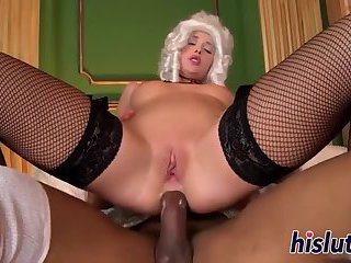 Kitty Kat rides hard on a BBC