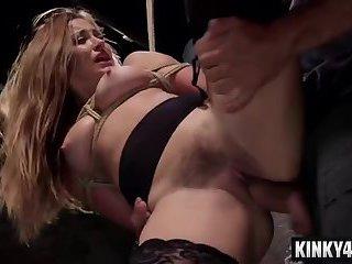 Hot pornstar domination and cumshot
