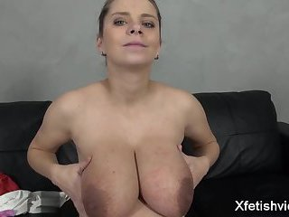 Big tits pregnant sex with cumshot