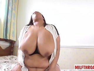 British milf sex and cumshot