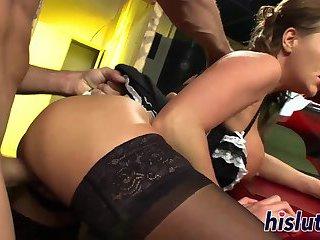 Ravishing Paige Ashley pleasures a big member