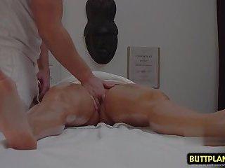 Hot amateur hardcore and massage