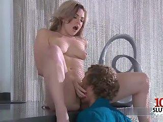 Hot pornstar sex and cumshot