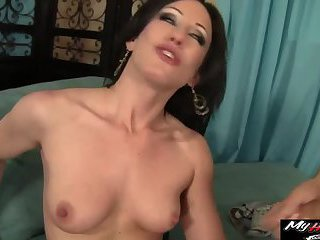 Scott helps get his stepsister off after he sees her masturbating