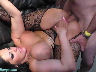 Ashley cum star in wild orgy