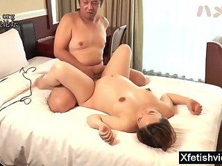 Hot pregnant blowjob with creampie
