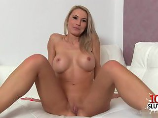 Thumb Hot pornstar casting and cumshot