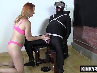Hot pornstar domination and orgasm