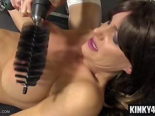 Hot pornstar bondage orgasm and orgasm