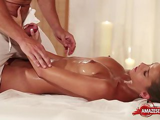 Hot pornstar sex and massage