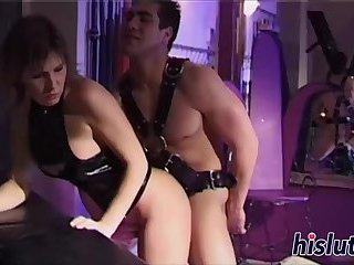 Slutty Wendy gets nailed from behind