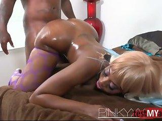 Big tits pornstar anal with cumshot