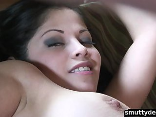 Evie Delatosso gets a pounding
