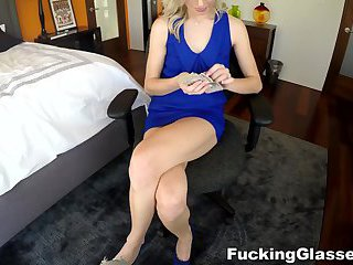 Fucking Glasses - Great fuck with a fresh blonde