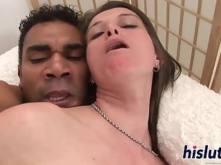 Monster black cock for a saucy MILF