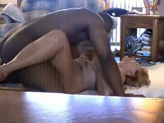 Big tits mature gets black dick and hot cum
