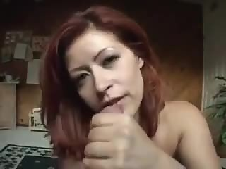 Redheads mature with big boobs pleasuring cock
