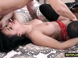 Big tits pornstar hardcore and creampie