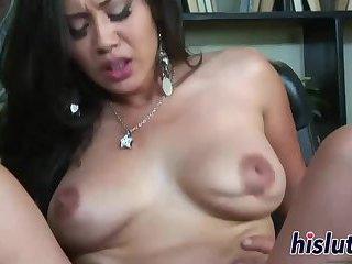 Jessica Bangkok rides on a big dong