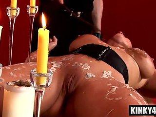Sexy pornstar bdsm and cumshot