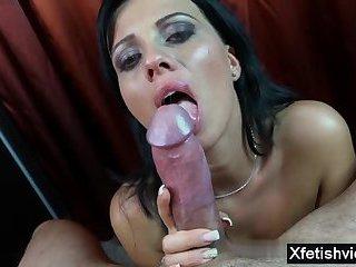 Hot pornstar fetish with orgasm