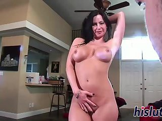 Busty Krista is exceptionally skilled in handjobs