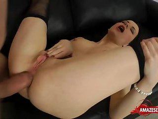 Natural tits pornstar hardcore with cumshot