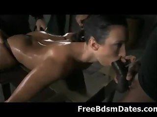 Slut Tied up and Fucked Hard