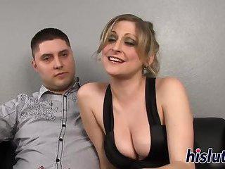 Sexy Lya pleasures a massive black boner