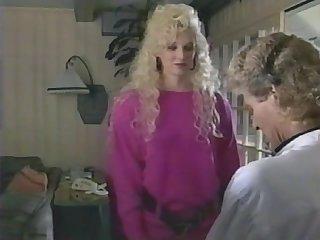 Tall blonde Melanie Moore seduce and fuck