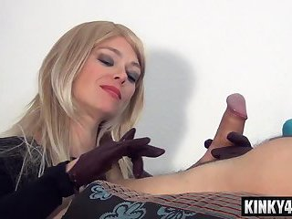 Hot pornstar domination with cum in mouth