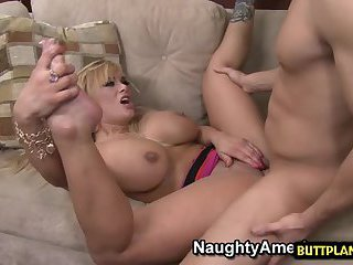 Big tits wife sex with cumshot