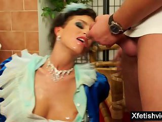 Hot pornstar piss with cumshot