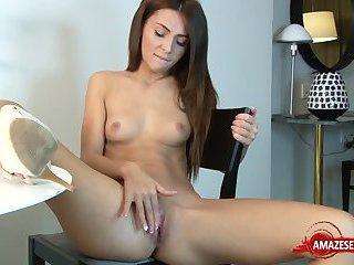Sexy pornstar sex with cumshot