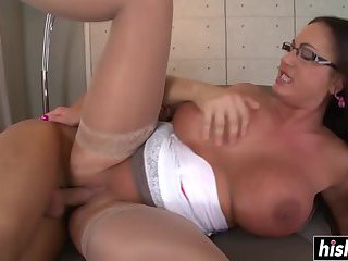 Emma Butt fucked in her pussy