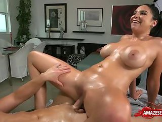 Latin pornstar hardcore with facial