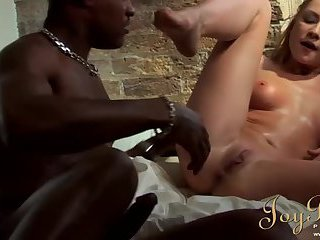 Lily Love party and interracial fuck with Sensi in London