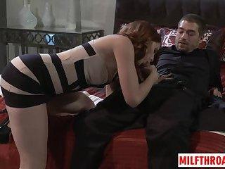 Hot mom sex and cumshot