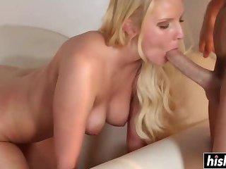 Vanessa Cage receives a hard boner