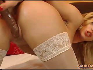 Top model blonde striptease private cam