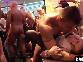 Club girls like to get fucked hard