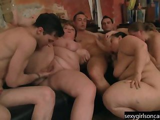 Bbw Group Orgy